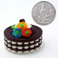 5 gram Silver coin 999 with innovative box for Corporate gift use on festival