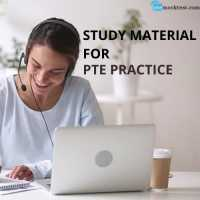 Study Material For PTE Practice